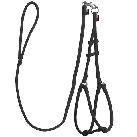 DOGLine Comfort Microfiber Round Step-In Harness - SitStay - 2