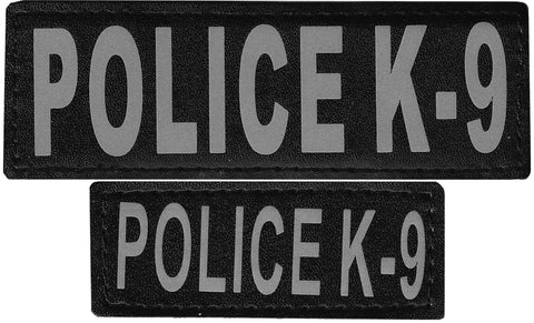 "DOGLine Velcro Patches ""Police K-9"" 2 Pack - SitStay - 1"