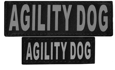 "DOGLine Velcro Patches ""Agility Dog"" 2 Pack - SitStay - 1"