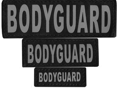 "DOGLine Velcro Patches ""Bodyguard"" 2 Pack - SitStay - 1"