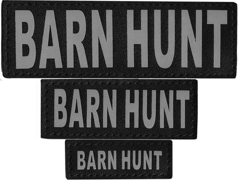 "DOGLine Velcro Patches ""Barn Hunt"" 2 Pack - SitStay - 1"