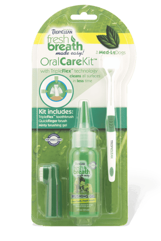TropiClean Fresh Breath Oral Care Kit - SitStay