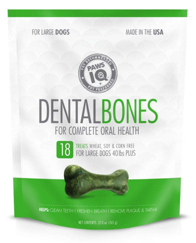 PawsIQ - Dental Bone Treats - SitStay