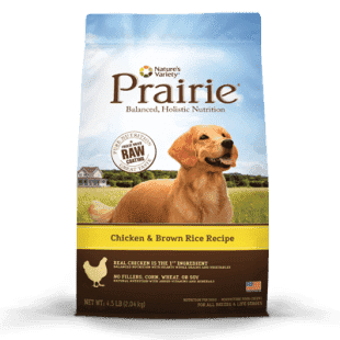 OLD Nature's Variety Prairie, Chicken Meal & Brown Rice, 4.5 lb - SitStay