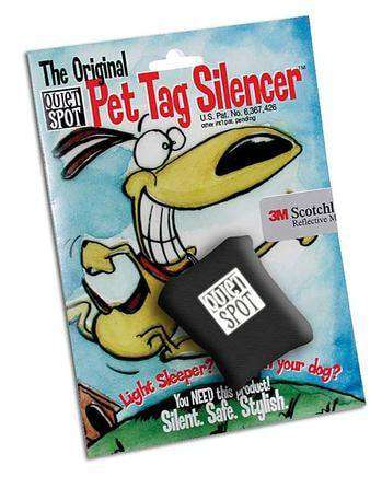 Quiet Spot Tag Silencer: Assorted Colors, Weatherproof, Made in the USA - SitStay - 1