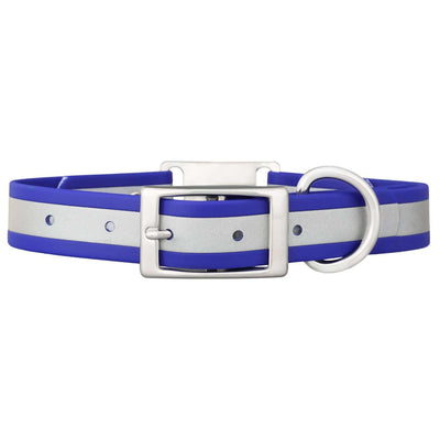 dogIDs Reflective ScruffTag Personalized Dog Collar