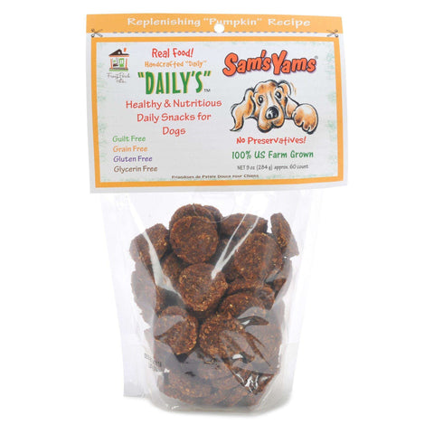 Front Porch Pets - Sam's Yams Daily's, Replenishing Pumpkin Recipe