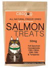 CBD Oil Freeze Dried Salmon Treats for Cats by CBD Dog Health
