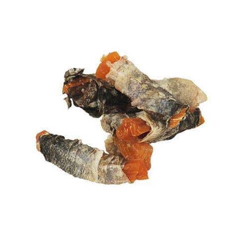 Fish4Dogs Ocean Wrap, with Sweet Potato! 3.5 oz. bag - SitStay