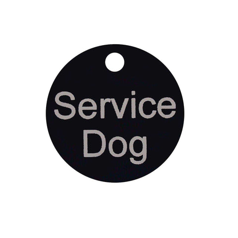 PetFlect (Service or Therapy Dog) Smart Chip Digital I.D. Tag - SitStay