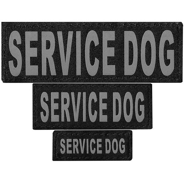 "DOGLine Velcro Patches ""Service Dog"" 2 Pack"