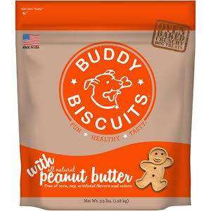 Cloud Star Oven Baked Buddy Biscuit - Peanut Butter, 3.5 lb - SitStay