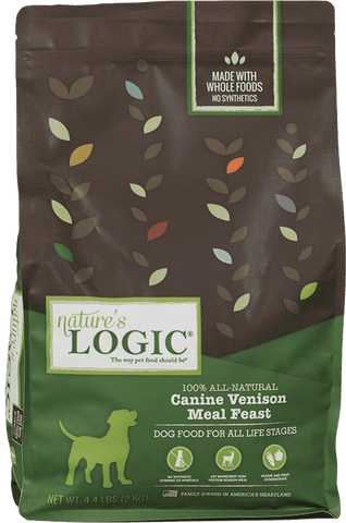 Nature's Logic Dry Kibble - Venison - SitStay - 1