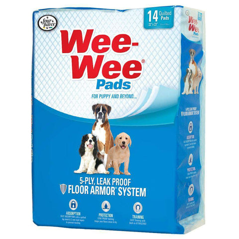 Four Paws Wee Wee Housebreaking Pads - SitStay