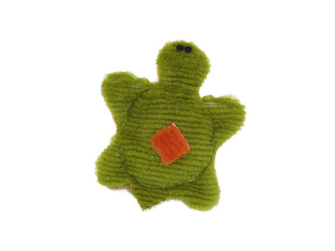 West Paw Design - Tiny Turtle Classic Corduroy Dog Toys - SitStay