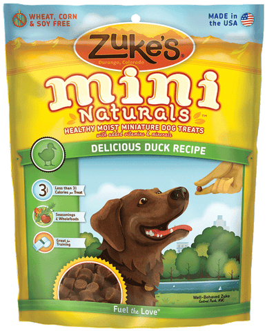 Zuke's Delicious Duck Recipe MINI Naturals, 16 oz
