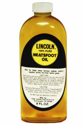 Lincoln 100% Pure Neatsfoot Oil 8Fl Oz