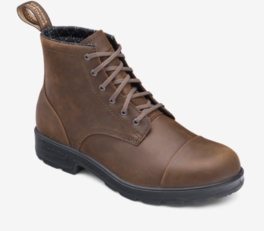 Blundstone Unisex 1935 Lace Up Boots w/ Toe Cap
