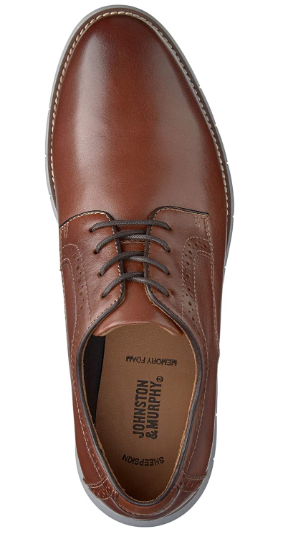 Johnston & Murphy Men's Holden Full Grain Plain Toe