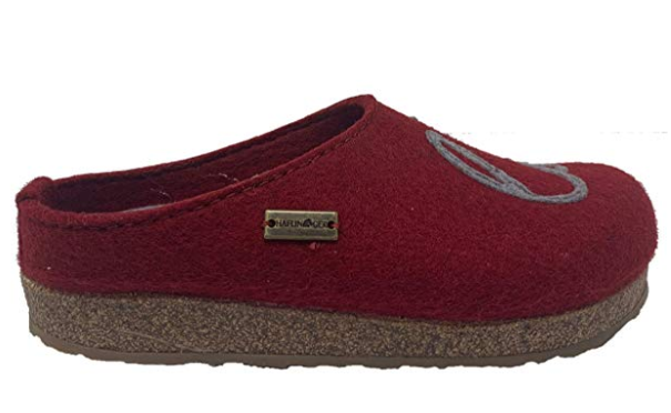 HAFLINGER Women's Grizzly Lovely Wool Clogs