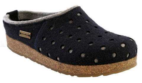 Haflinger Siberia Shearling Lined Closed Heel Clog