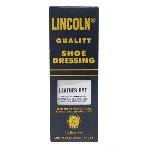 Lincoln Shoe Leather Dye