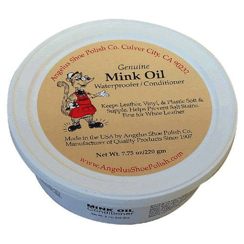 Angelus MINK OIL Paste Condition, 7.75 oz
