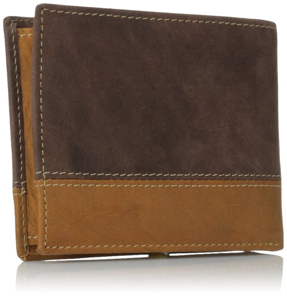 Timberland Men's Hunter Colorblocked Passcase Commuter Wallet