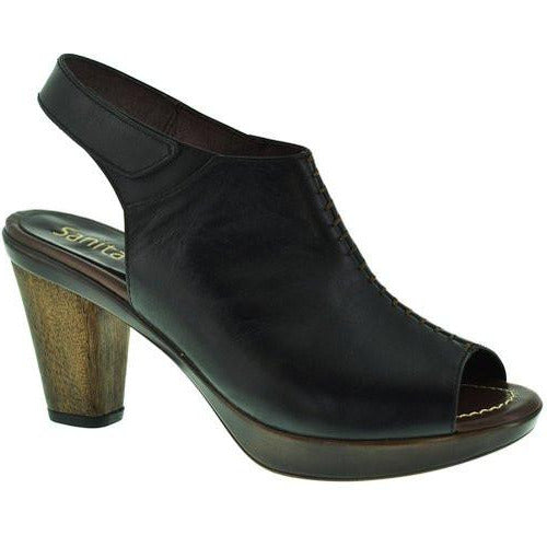 Sanita Clogs Women's Bliss Bali Heel Black