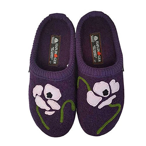 Haflinger Women's AS Blossom Slip on Slipper