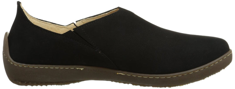 El Naturalista Women's Bee ND80 Slip-On Loafer Black