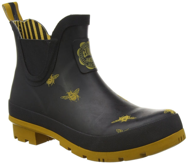 Joules Women's WelliBob Boots Black