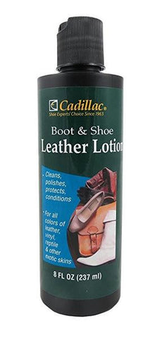 Cadillac Boot and Shoe Leather Lotion 8 Fl Oz