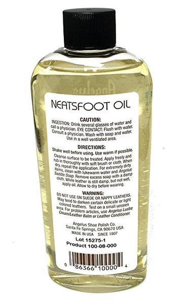 Angelus Neats Foot Oil Compound, 8 oz