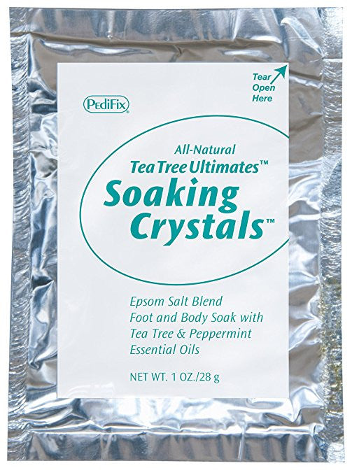 Pedifix Soaking Crystals Foot Bath - (6) 1 Oz. Packetsper Box