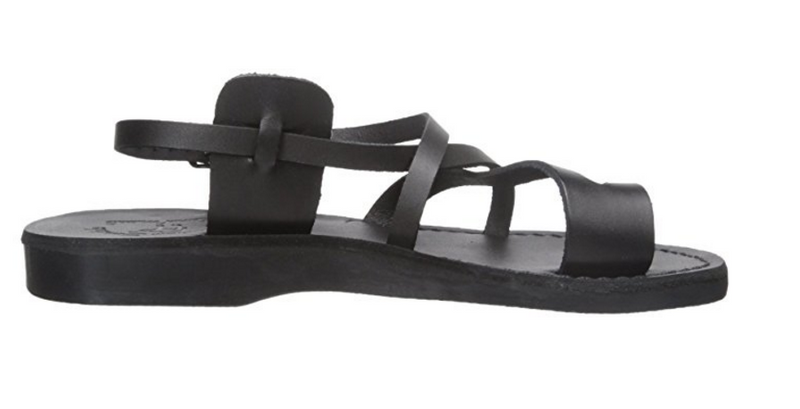 Jerusalem Sandals Unisex The Good Shepard Buckled Toe-Ring Sandal