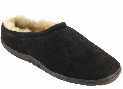 Ciabatta NL-03301-R Men's Sheepskin Slippers
