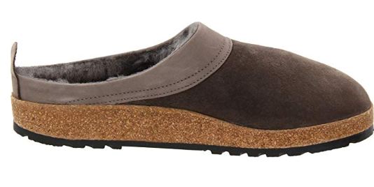 Haflinger Unisex Snowbird Shearling Leather Clog