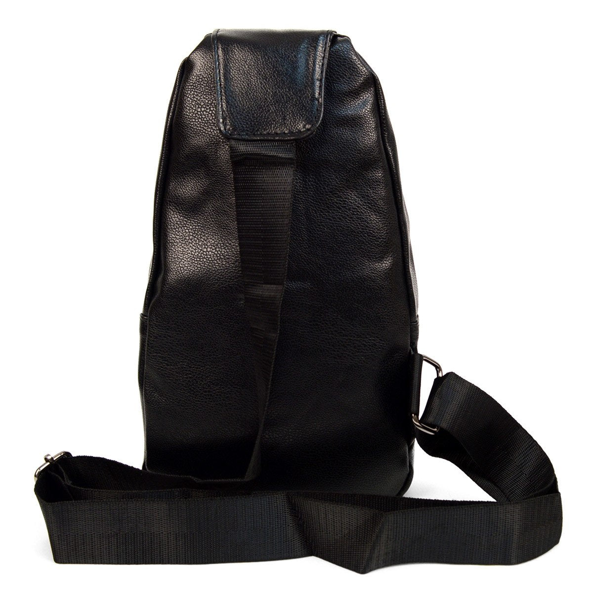Westend Crossbody Leather Sling Bag Backpack with Adjustable Strap