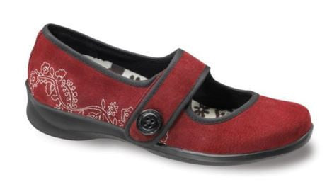 Aetrex Women's E330 / E335 / E338 Lucy Patent Mary Jane Wide Flat