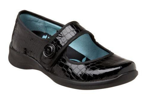 Aetrex Women's E335 / E338 Lucy Patent Mary Jane X-Wide Flat