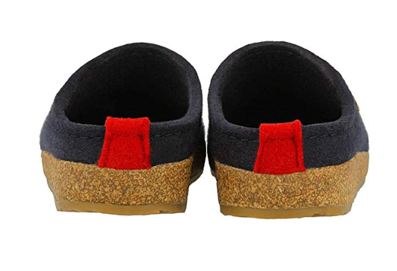 Haflinger Women's Grizzly Cuoricino Slipper Clog