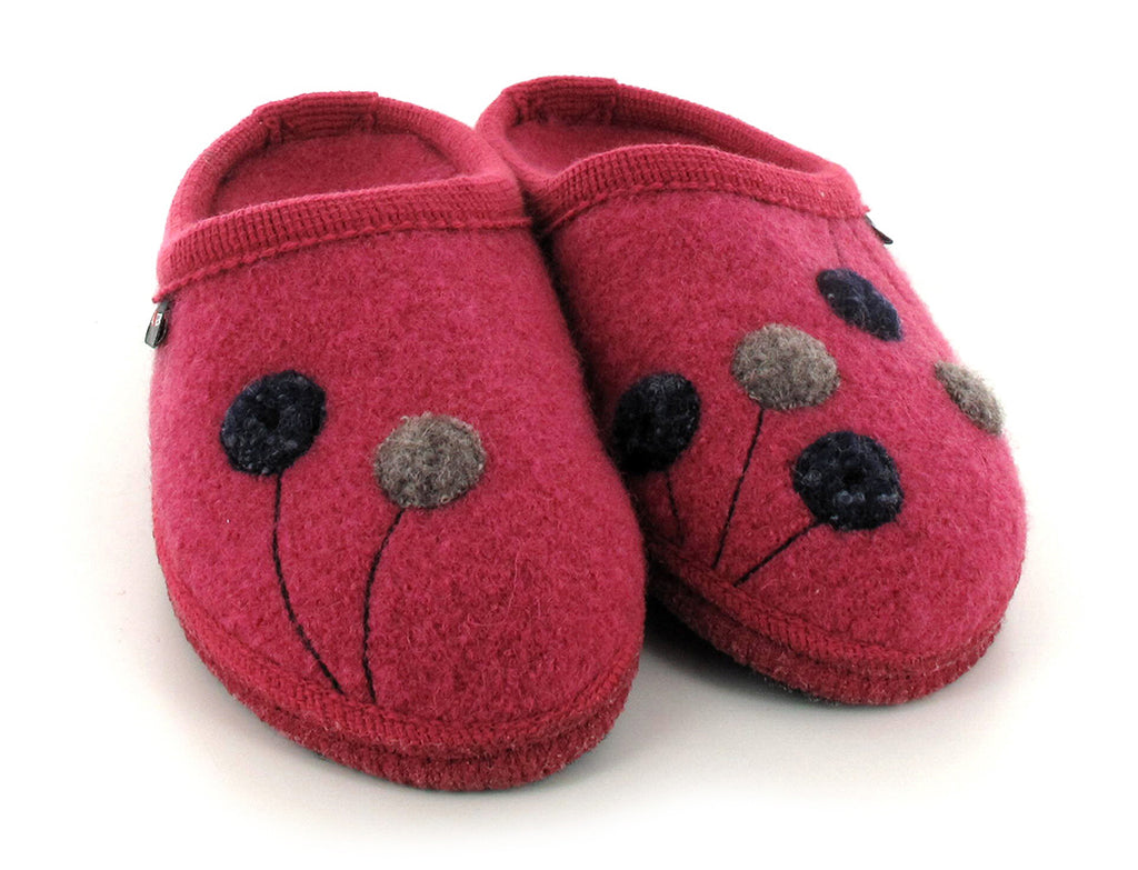Haflinger Women's Walktoffel Solvejk Wool Slippers