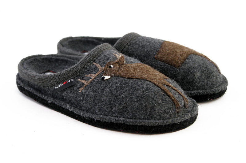 Haflinger AR Deer Women's Wool Slipper