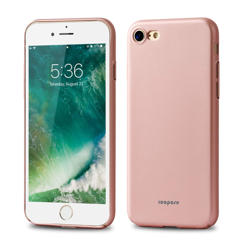Roopose Phone Shell Case Ultrathin Shockproof Matte PC Hard Back Case Cover Anti-Fingerprints Silky Touch Feel Phone Case for iPhone 7/8