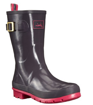 Joules Kelly Welly Slate Boots