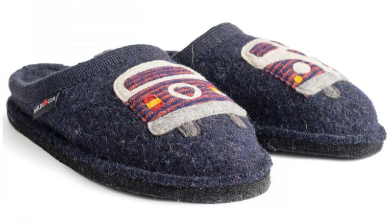 Haflinger Women's Hippie-Van Wool Slipper