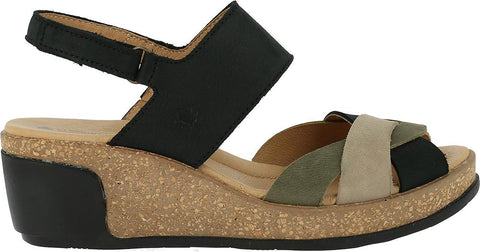 Sanita Women's Original Professional Anabelle Closed Printed Suede