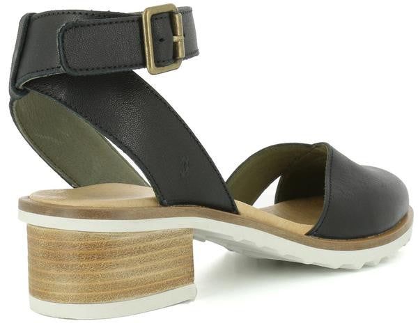 El Naturalista Women's Sabal N5013 Black Sandal