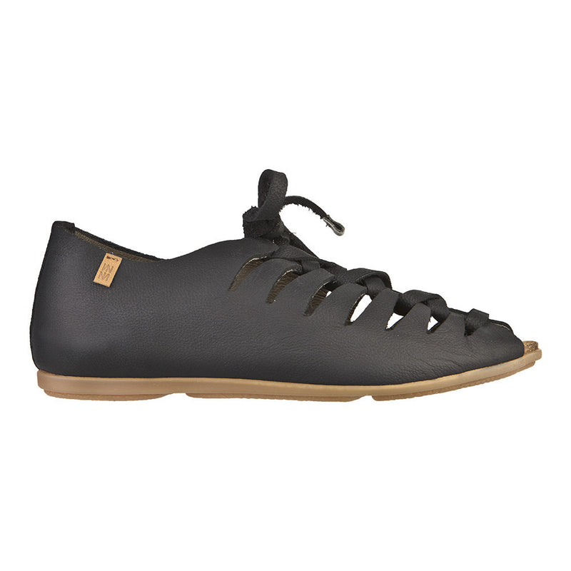 El Naturalista Women's Crust Leather ND52 Flat